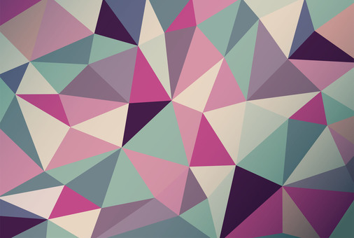 Polygon style ☆ Geometric background material