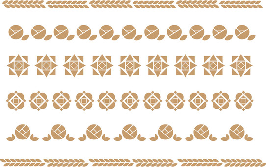 Simple decorative border 12