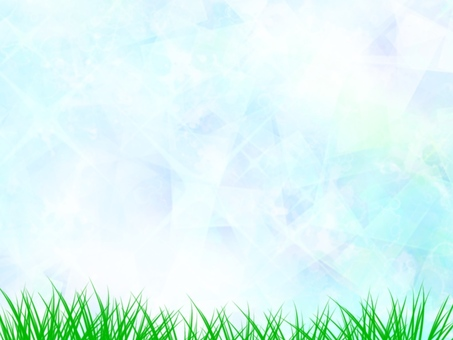 Grass and sparkling background