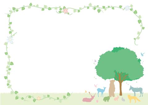 森林動物框架