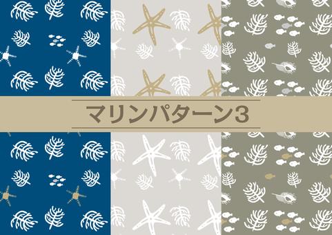 Marine pattern _3