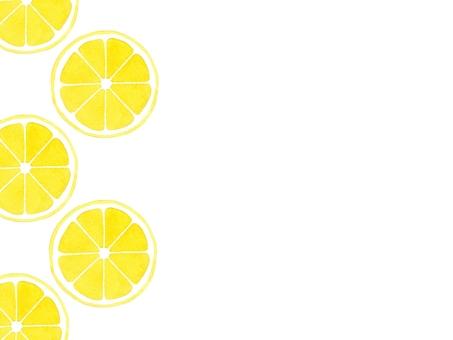 【Watercolor】 Lemon
