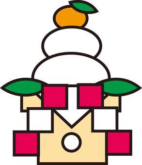 Kagami mochi
