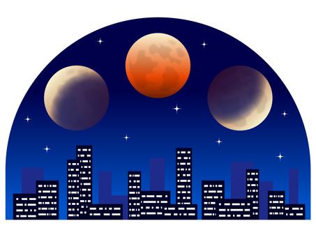 Total lunar eclipse image