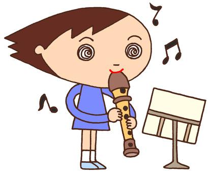 Elementary schoolcharacters · music