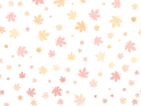 Pattern of autumn leaves