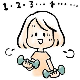 肌肉訓練婦女