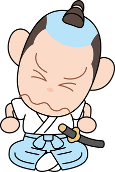 Comical Samurai regret