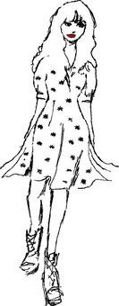 Fashionable ladies