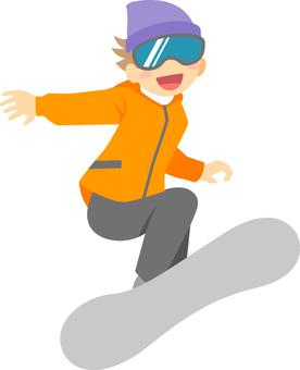 Winter / Snowboarding
