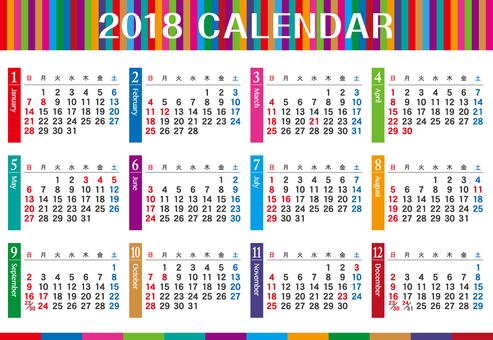 2018 Calendar _ 01