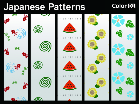 Japanese Pattern _ color 01