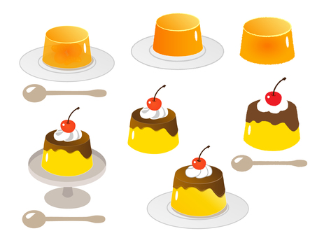 Pudding and jelly set