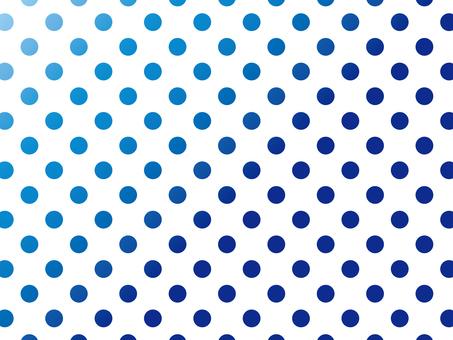 "Polka dot 2 ""Blue"""