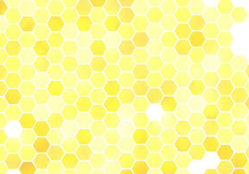 【Background】 Honeycomb pattern