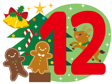 12月 カレンダー 見出し