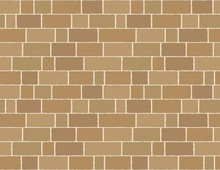 Stone pavement and brick pattern _ brick _ light