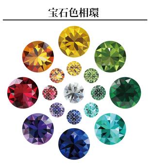 Gemstone hue