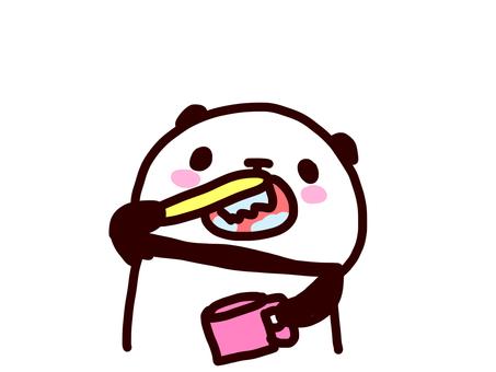 歯磨きパンダ