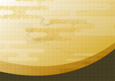 Background 204_ golden wind background C