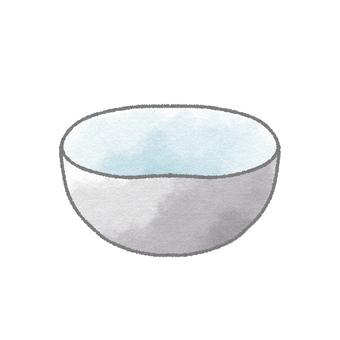 그릇 (검정)