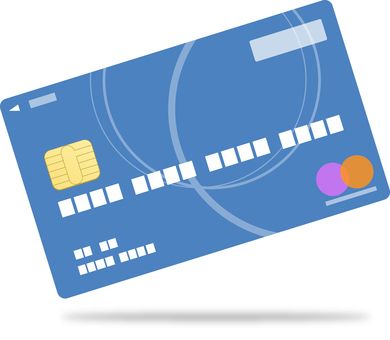 Credit card with IC