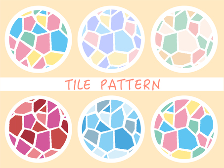 Tile pattern polygon