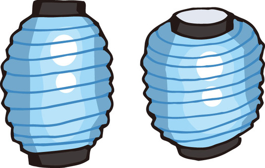 Lantern (light blue)