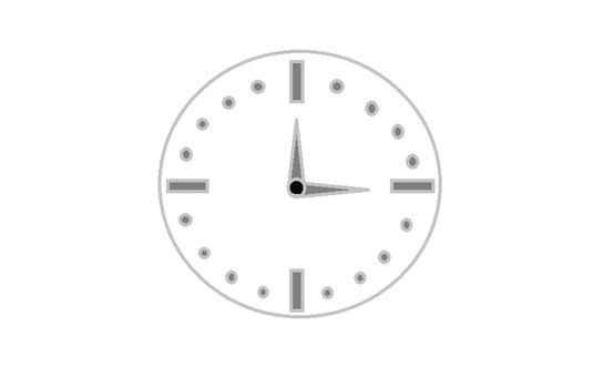 시계입니다
