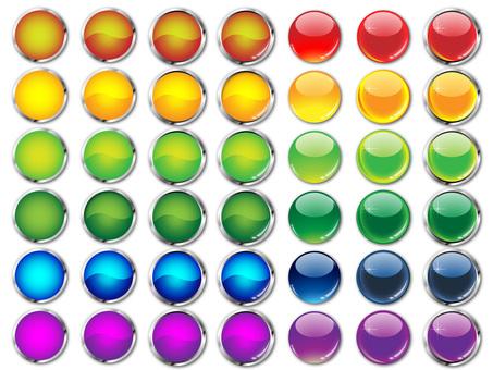 Round button 7 Version 6 color
