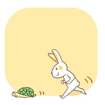 Usagi and Turtle