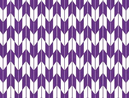 Purplish arrowhead pattern wallpaper