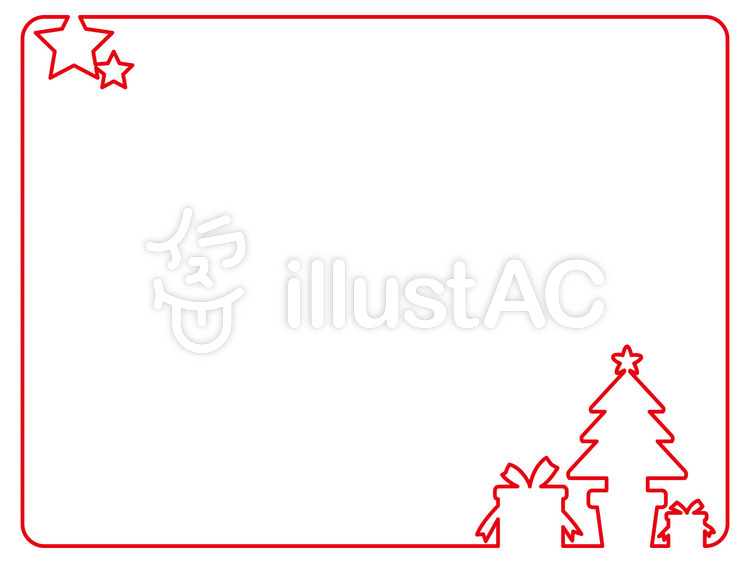 フレーム クリスマス イラスト No 106436 無料イラストなら