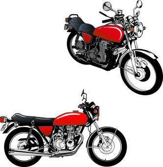 リアルなバイクセット