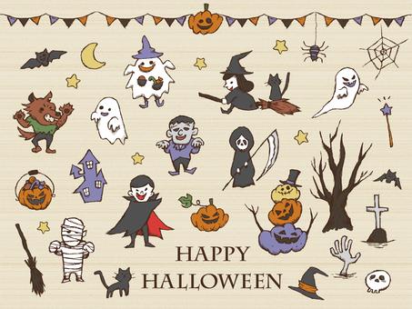 【Handwritten】 Halloween 1