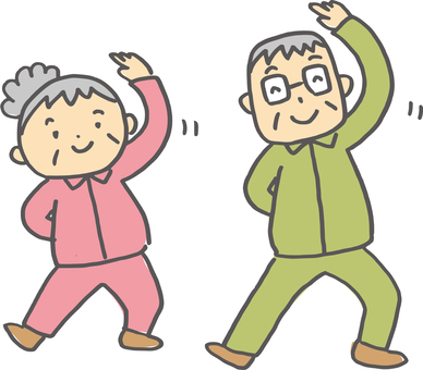 Elderly gymnastics