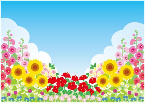 여름 초원