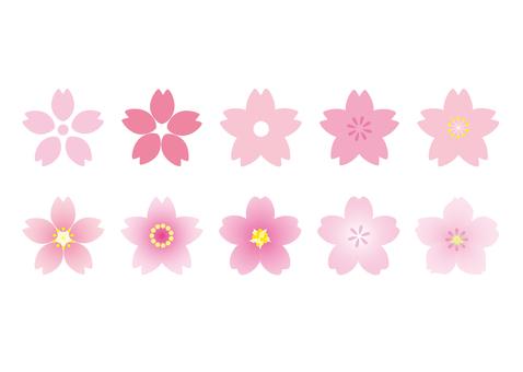 벚꽃 아이콘 모음