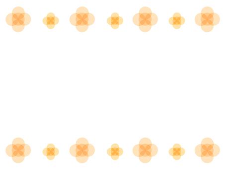 Orange Flower Frame