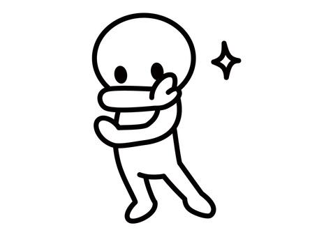 【Subject】 Stick figures - deciding pose