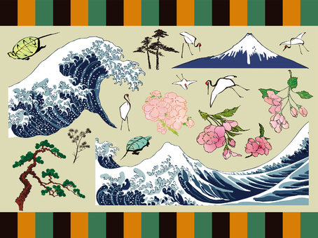 Ukiyo-e Japanese style collection Vol.1