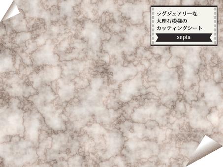 大理石棕褐色切紙壁紙