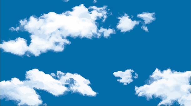 Cobalt blue sky