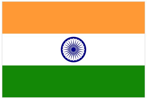 National flag _ India