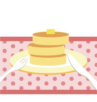 Profile icon (hot cake)