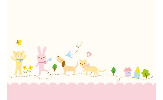 Animal walk 2