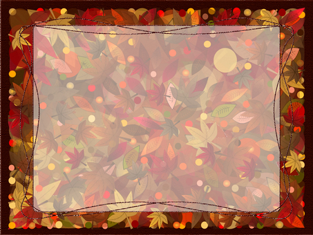 Autumn message card