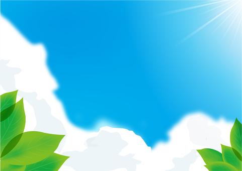 天空和雲彩9