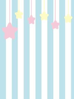 Border pattern star wallpaper