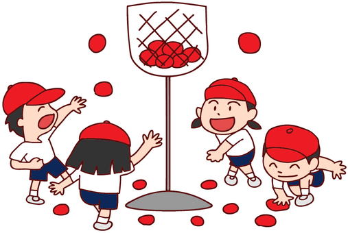 Illustration of ball competition